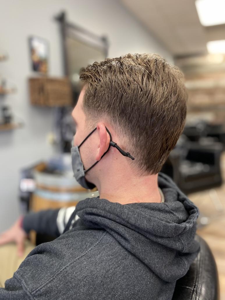Men's Haircut.
