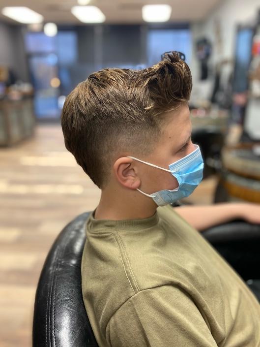 Boys Haircut.