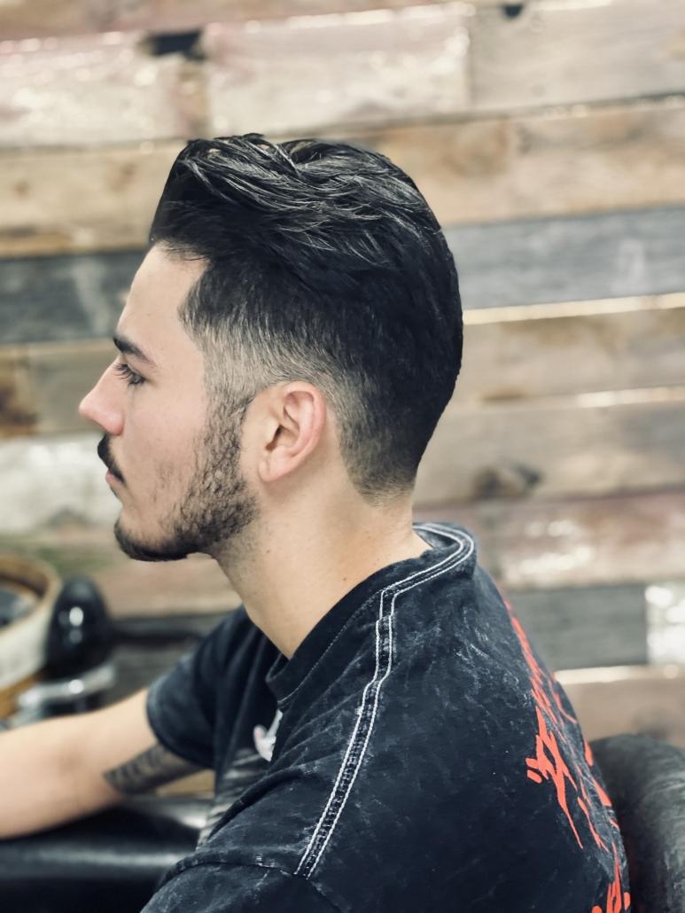 Men's Haircut and beard trim.
