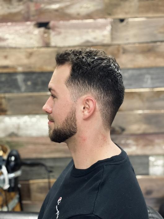 Men's Haircut and beard trim, Rock Paper Clippers, Kansas City, MO 64151