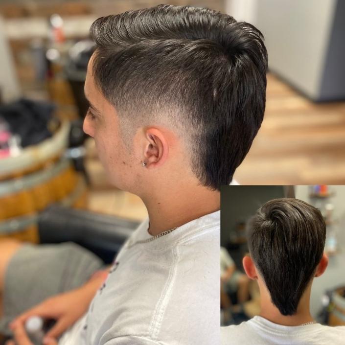 Boy's haircut- Eurohawk